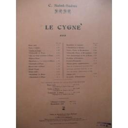SAINT-SAËNS Camille Le Cygne Piano Violon
