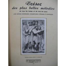 DELFOLIE V. Trésor des plus belles Mélodies 1947