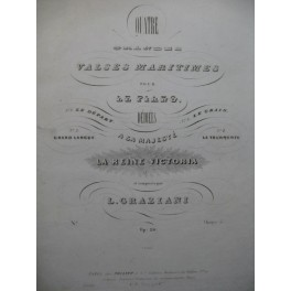 GRAZIANI L. Grand-Largue Piano ca1840