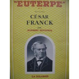 DUFOURCQ Norbert César Franck 1949