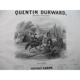 CARON Gustave Quentin Durward Piano XIXe siècle