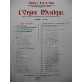 TOURNEMIRE Charles L'Orgue Mystique No 4 Orgue 1929