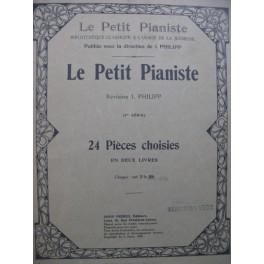 Le Petit Pianiste No 1 2e Livre 12 Pièces Piano 1919