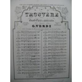 VERDI Giuseppe Le Trouvère No 12 Chant Piano ca1860