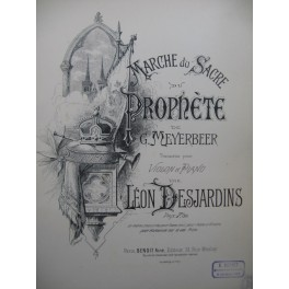 MEYERBEER G. Marche du Sacre du Prophète Violon Piano XIXe