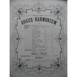 BACH J. S. Fugue Orgue Harmonium ca1860
