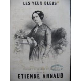 ARNAUD Etienne Les Yeux Bleus Chant Guitare ca1845