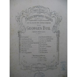 BULL Georges L'Africaine Piano XIXe siècle