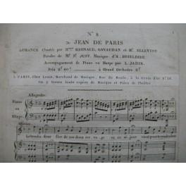 BOIELDIEU Adrien Jean de Paris No 8 Chant Piano ou Harpe ca1815