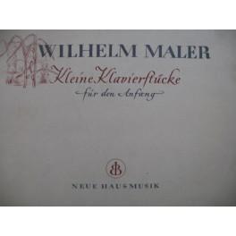 MALER Wilhelm Kleine Klavierstücke für den Aufang Piano