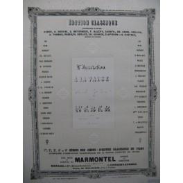 WEBER L'Invitation à la Valse Piano XIXe siècle