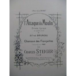 STEIGER Charles l'Attaque du Moulin Piano