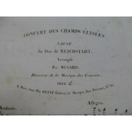 MUSARD Concert des Champs Elysées Piano XIXe siècle