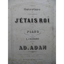 ADAM Ad. Si J'étais Roi Piano XIXe siècle