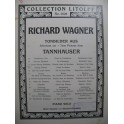 WAGNER Richard Erster Gesang Wolframs Piano