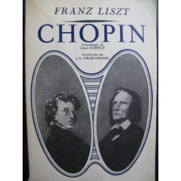 LISZT Franz Chopin 1948