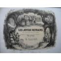 CARON G. Les Joyeux Refrains Bon Voyage Cher Dumolet Piano XIXe siècle