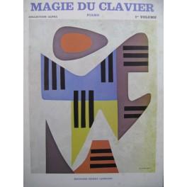 Magie du Clavier 1er Recueil 16 Pièces Piano 1973