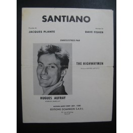 Santiano Hugues Aufray Chant Piano 1961