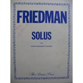 FRIEDMAN Stan Solus Trompette solo 1978