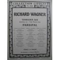 WAGNER Richard Parsifal Gurnemanz Piano 4 mains