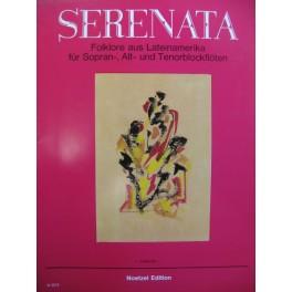 Serenata Folklore aus Lateinamerika Flûte à bec 1984