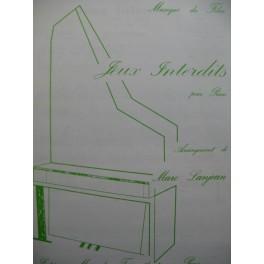Jeux Interdits Musique du Film Piano 1981