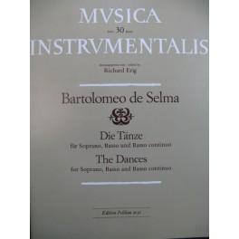DE SELMA Bartolomeo Die Tänze Soprano Basso Basso continuo 1977