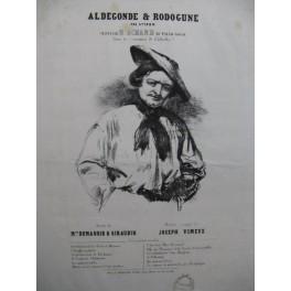 VIMEUX Joseph Aldegonde & Rodogune Chant Piano ca1840