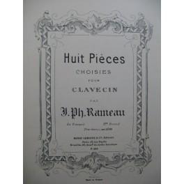 RAMEAU Jean-Philippe Quatre Pièces pour Clavecin
