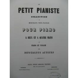 GOLDNER W. Andante Villanelle et Rondo Violon Piano XIXe