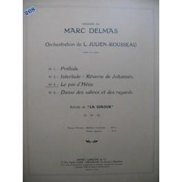 DELMAS Marc La Giaour No 3 Le Pas d'Héva Orchestre 1929