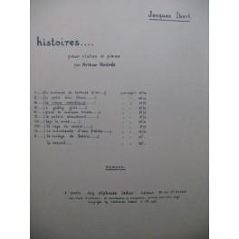 IBERT Jacques Le Vieux Mendiant Violon Piano 1931