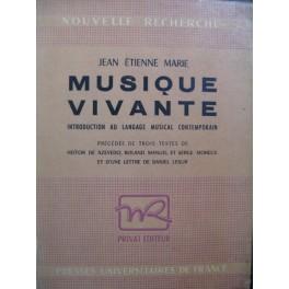 MARIE Jean-Etienne Musique Vivante 1953