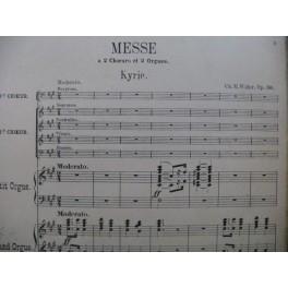 WIDOR Ch. M. Messe à deux Choeurs op 36 Chant Orgue