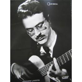 ALEXANDRE LAGOYA Photo Sudio Vallois Guitare Couesnon
