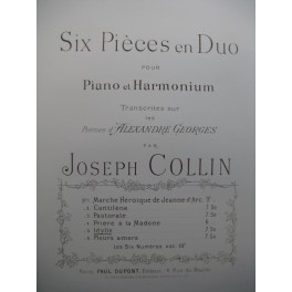 COLLIN Joseph Idylle Harmonium Piano