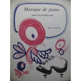 Musique de Piano pour les Premiers Pas 72 Pièces Piano 1972