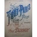 DURRANC Paul Tout Paris Piano