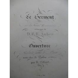AUBER D. F. E. Le Serment Piano XIXe siècle