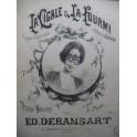 DERANSART Ed. La Cigale et la Fourmi Piano XIXe siècle