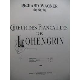 WAGNER Richard Marche et Choeur des Fiançailles de Lohengrin Piano