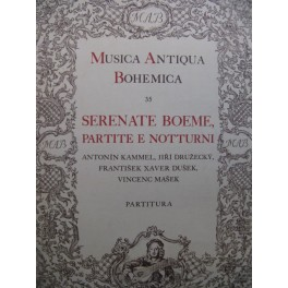 Serenate Boeme Kammel Druzecky Dusek Masek Orchestre