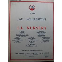 INGHELBRECHT D. E. La Nursery 2e Recueil Piano 4 mains 1946