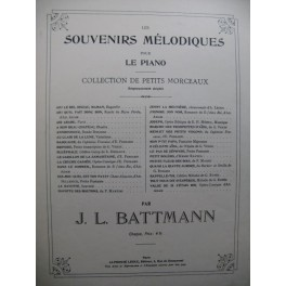 BATTMANN J. L. J'Ignore son Nom Piano