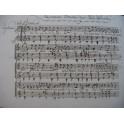 Recueil de Pièces manuscrites pour Chant et Guitare XIXe