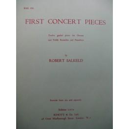 SALKELD Robert First Concert Pieces Flûte à bec Piano