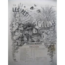 MAITHUAT L. Les Petits Papillons No 4 Prière à la Sainte Vierge Piano XIXe siècle