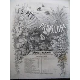 MAITHUAT L. Les Petits Papillons No 5 La Petit Fauvette Piano XIXe siècle