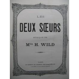 WILD Mlle H. Les Deux Sœurs Piano
